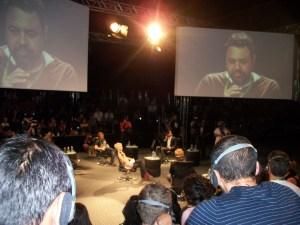 Marcelo Yuka no painel Desenvolvimento e Engajamento Social no #ForumSWU