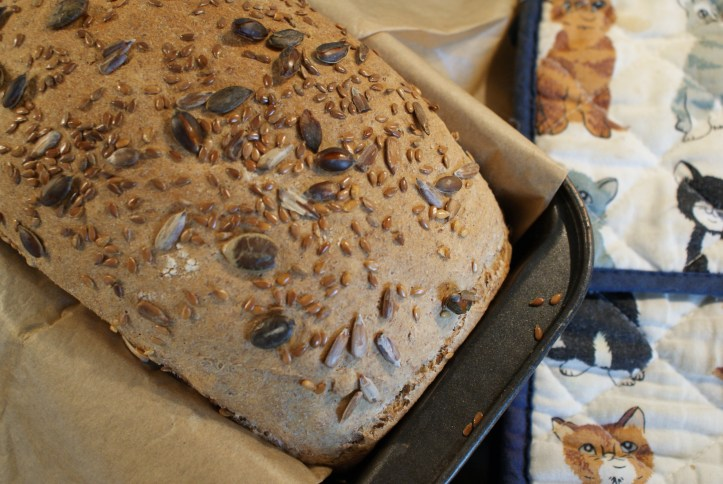 Susty Meals - Super Seed Loaf Recipe