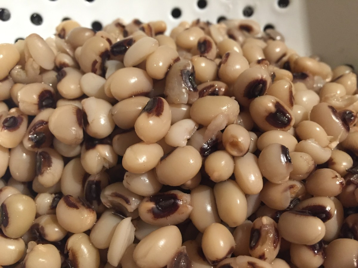 How to cook Black Eyed Beans in a Pressure Cooker