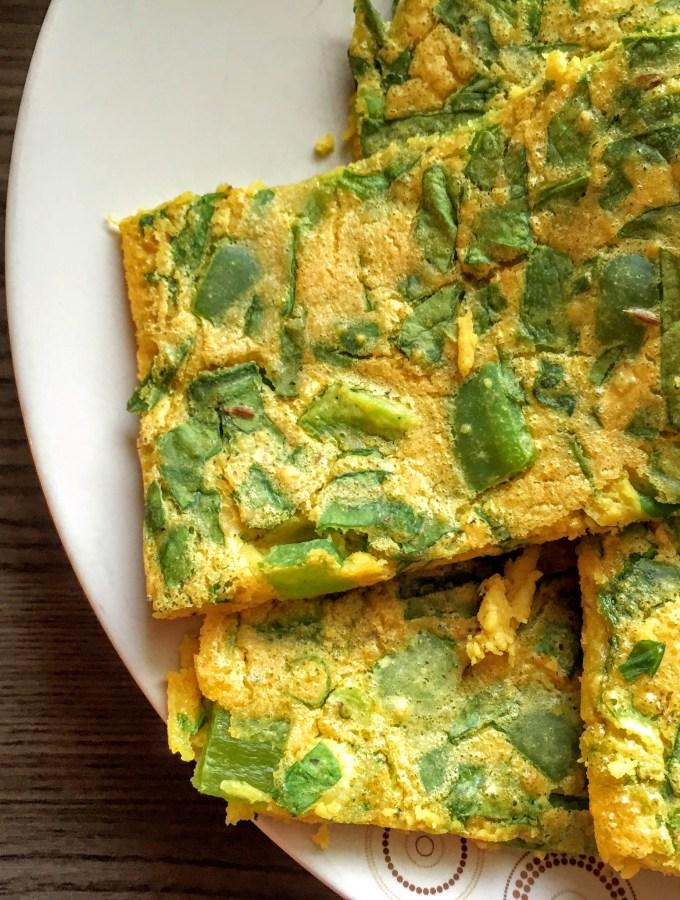 Vegan Veggie Chickpea Omelette | Vegan recipes | Breakfast | Sarah Irving | Susty Meals | Manchester Food Blogger