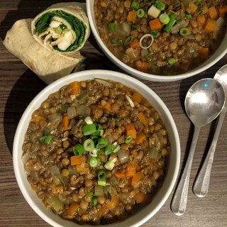Chunky Lentil and Vegetable Stoup