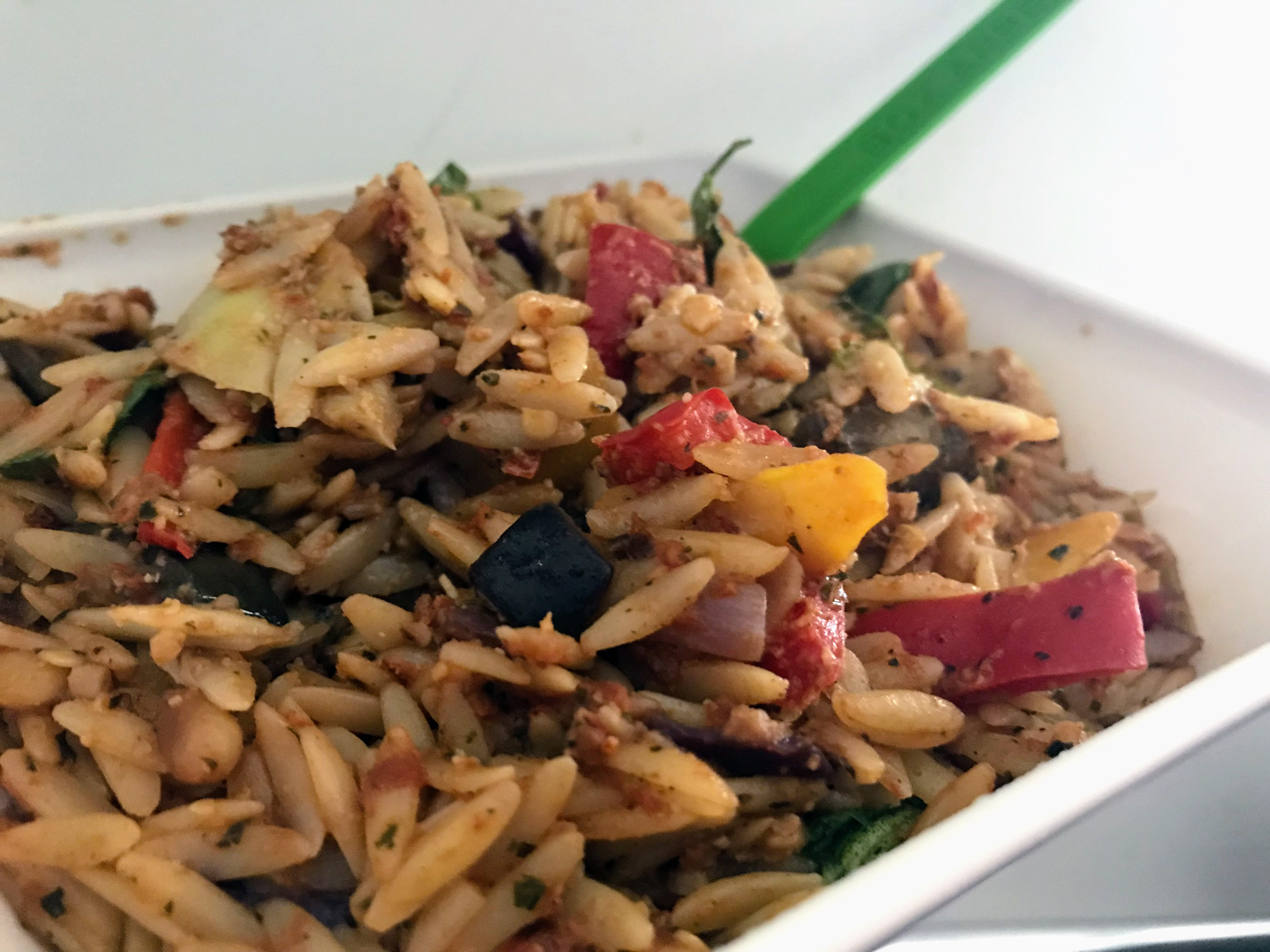Susty meals quick and easy two pot vegan orzo forumfinder Images