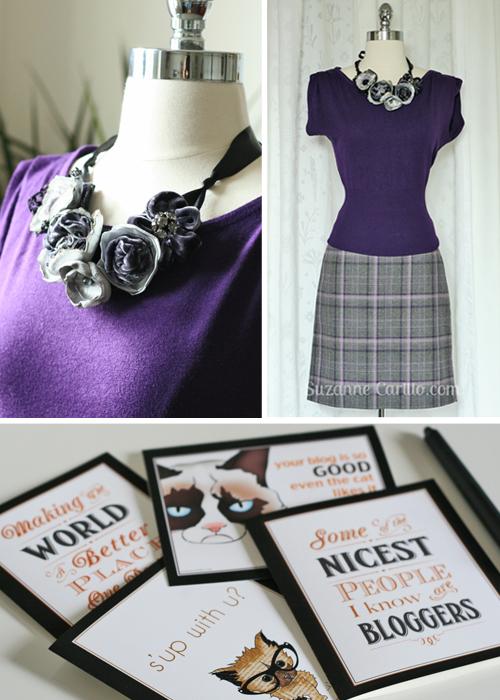 Blogger contest gifts Suzanne Carillo