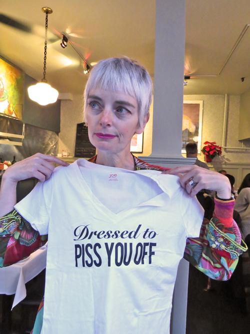 Melanie Bag and a Beret blogger