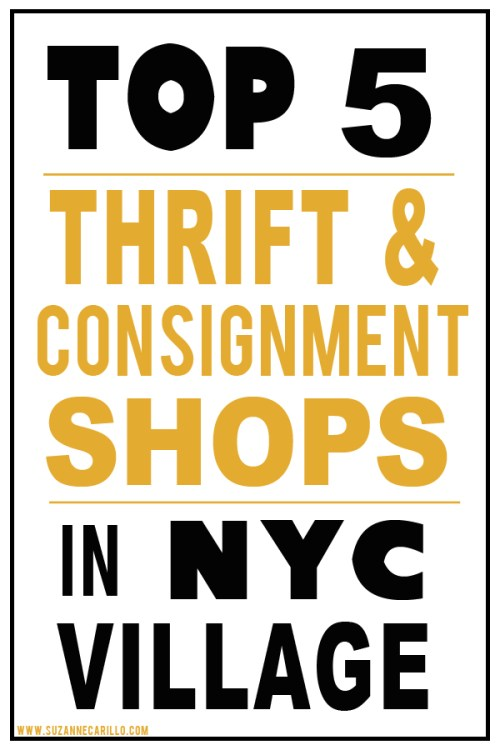 Top 5 thrift and consignment shops in the village nyc for Best consignment stores nyc