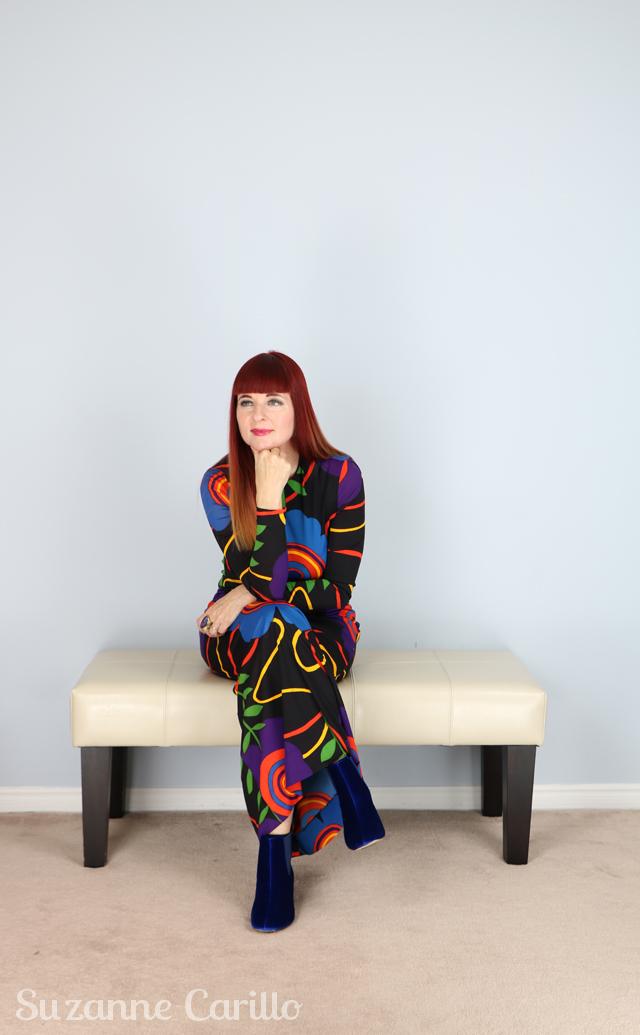 vintage fashion inspiration for women over 40 suzanne carillo