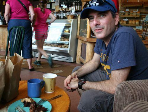 Robert at bears paw bakery