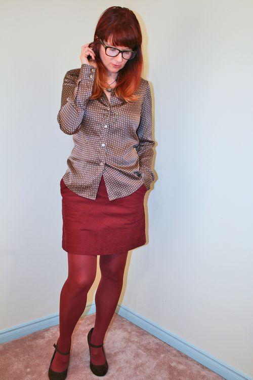 thrift store shopping tips silk blouse