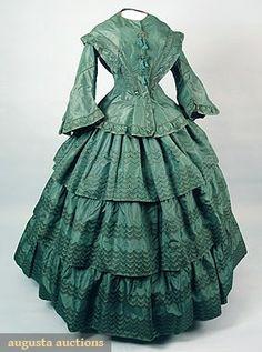 1800's antique dress