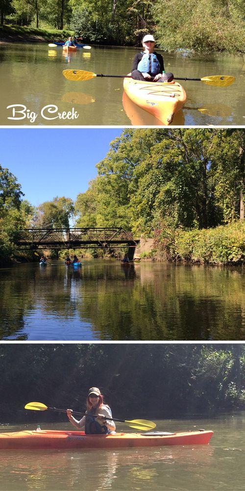 Kayaking souther ontario suzanne carillo