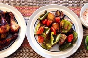 A Sunday Roast – Tandoori Chicken & Roasted Vegetables