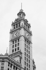 Exterior of the Wrigley Building Chicago