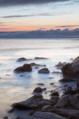Coastal California sunset