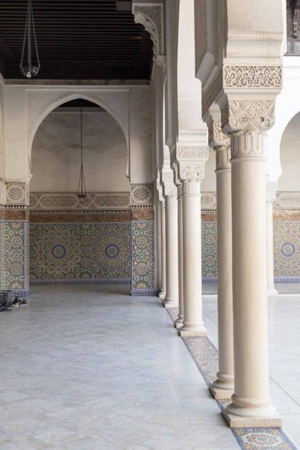 Passageway at Paris Grand Mosque