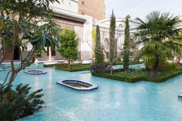 Garden at the Paris Grand Mosque