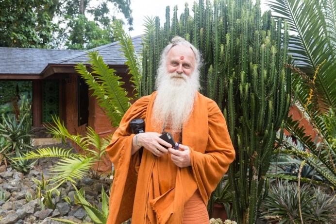 Kauai Hindu Monastery Monk