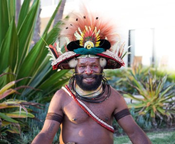 Papua New Guinea tourism event for Travel Massive