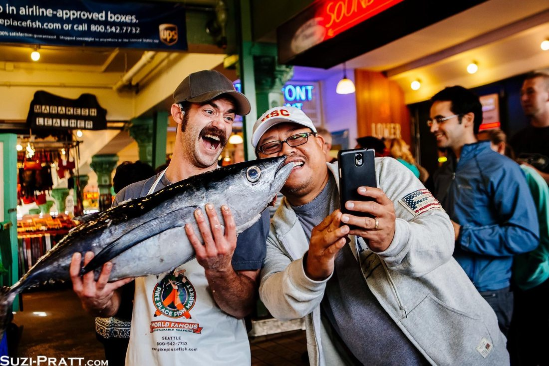 Pike Place Market Seattle travel photography