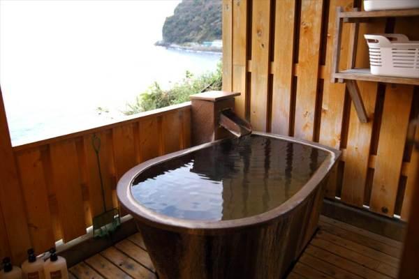 下の奥の貸切露天風呂
