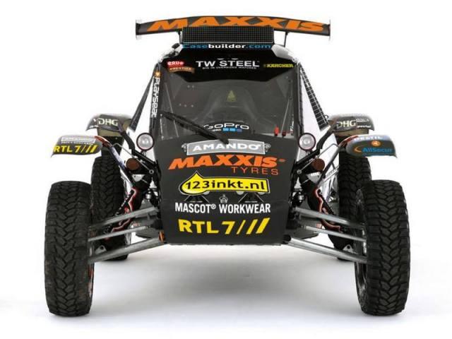 Suzuki na Dakar 2015 – Buggy z silnikiem od ścigacza !