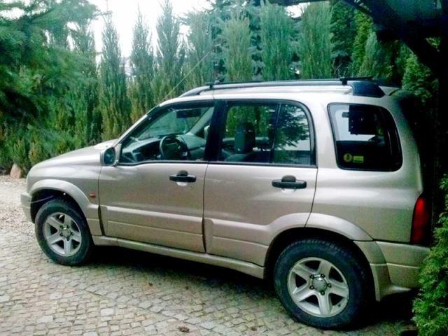 Suzuki Grand Vitara 2.0TD – Łukasz buduje wyprawówkę