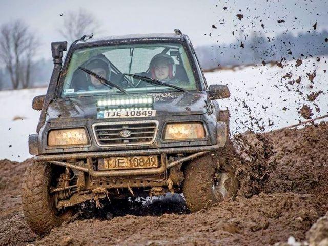 Suzuki Vitara – rajdówka Sukces EBC Rally Team