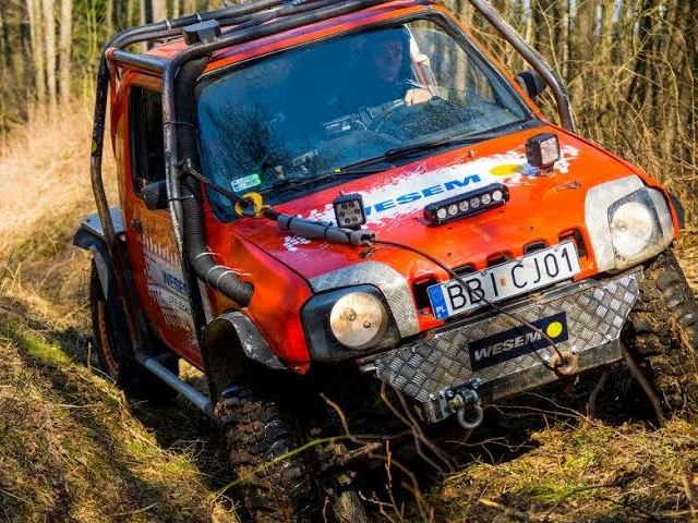 Suzuki Jimny WESEM off-road team