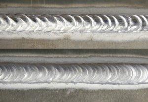 aluminium welding seam