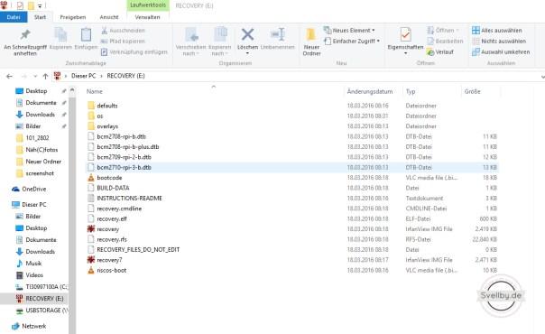 Dateien auf Micro SD Karte