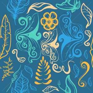 11.Leaves Seamless Pattern