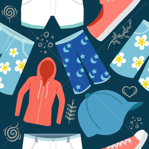 23.Clothing Seamless Pattern