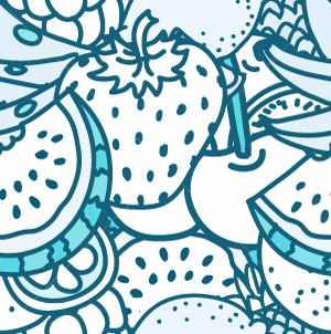 27.Fruit Seamless Pattern