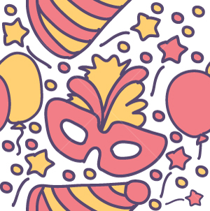 31.Celebration Seamless Pattern
