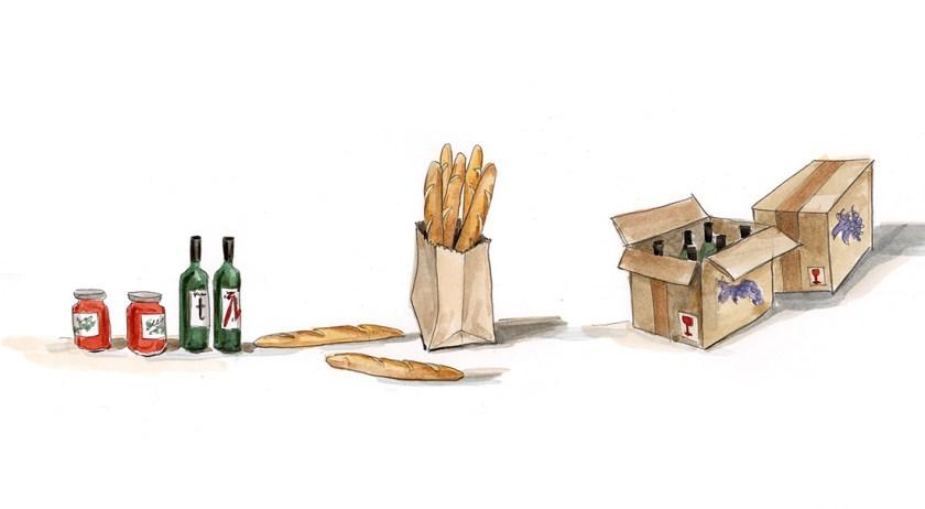 Svoboda_tzekova_Illustration_24_Wein_und_Brot