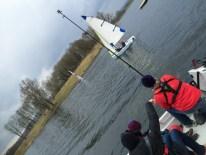 Die WDR Lokalzeit begleitete uns am, auf und unter dem Wasser …