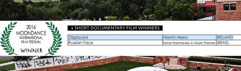 Displaced Wins Best Short Documentary at Moondance