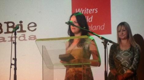 Writer's Guild of Ireland Zebbie Award for Niamh Heery
