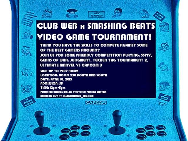 Club Web Video Game Tournament