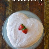 Strawberry Chocolate Sweetheart Cake