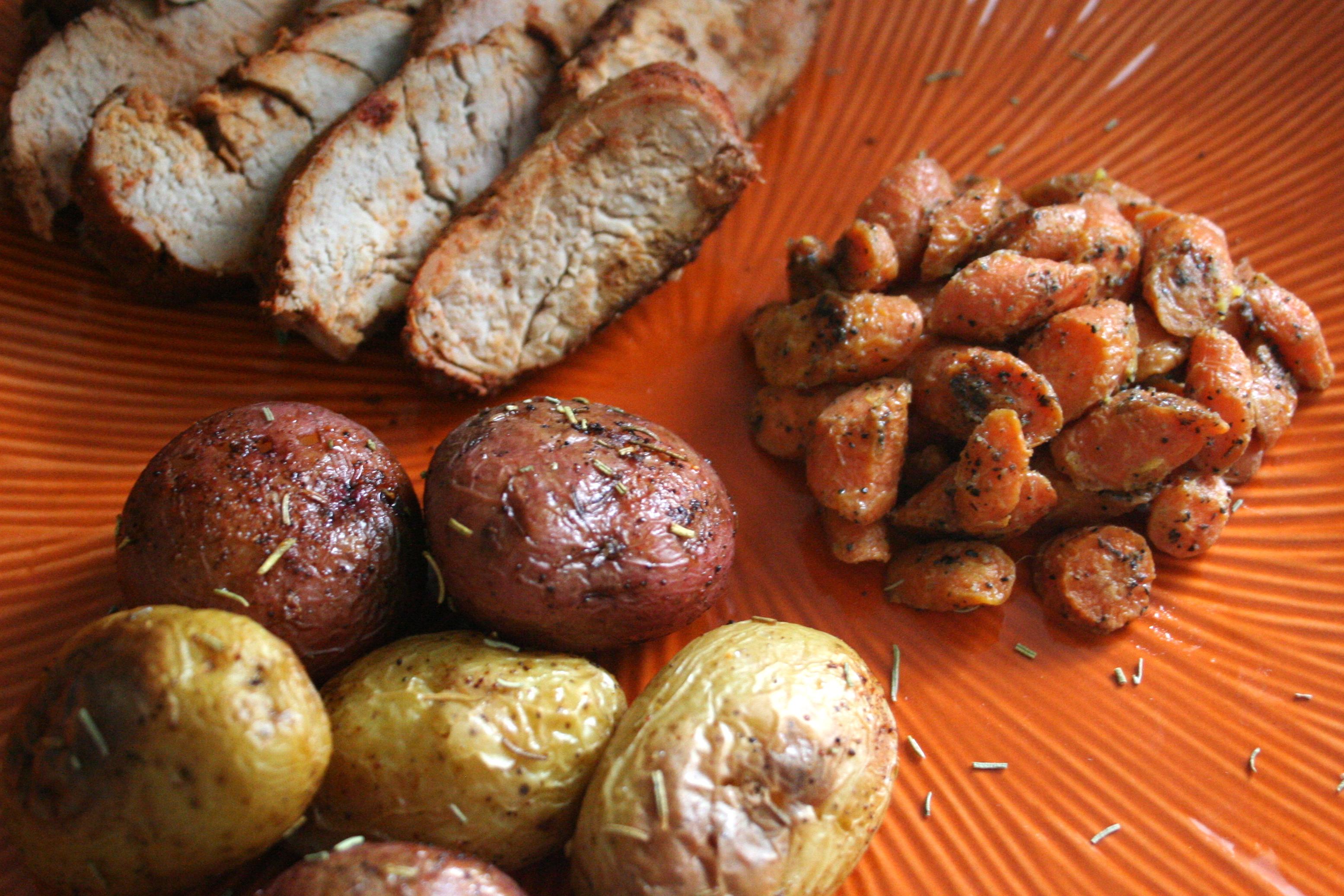 Balsamic And Rosemary Glazed Fingerling Potatoes Recipe ...