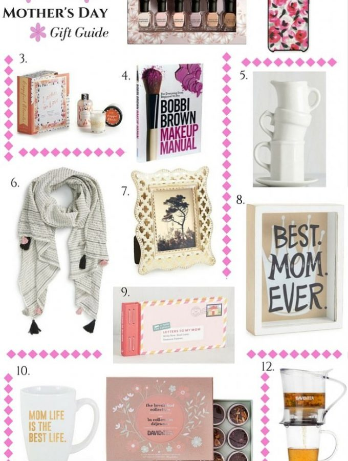 This fun and curated list of gifts for Mother's Day is sure to help you find the perfect thing to make mom feel special! Gift ideas for Mother's Day.