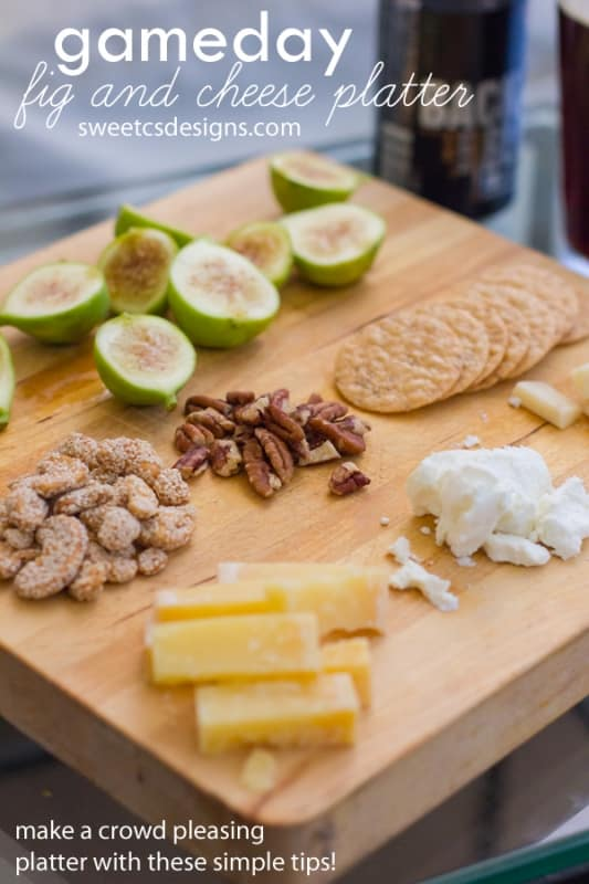 how to make a cheese platter for a crowd
