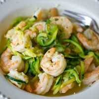 Low Carb Paleo Shrimp Scampi