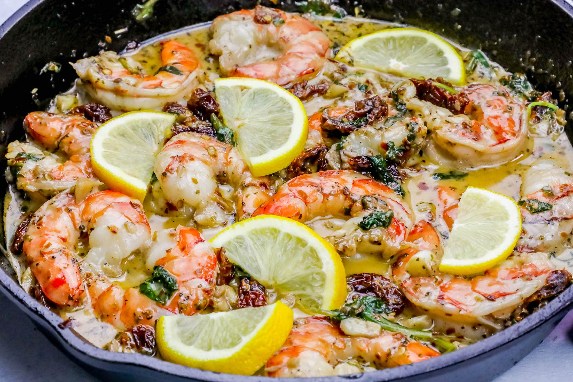 Fullsize Of Creamy Shrimp Scampi