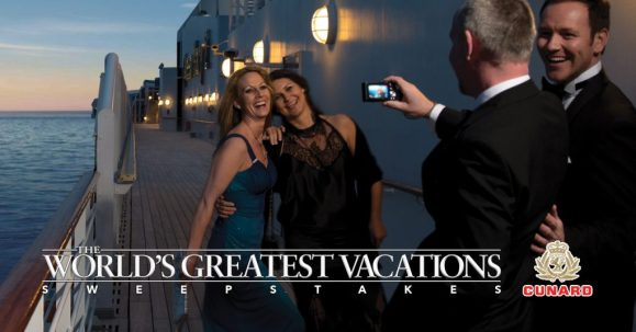 Cunards Remastered Queen Mary 2 Luxurious Cruise Sweepstakes