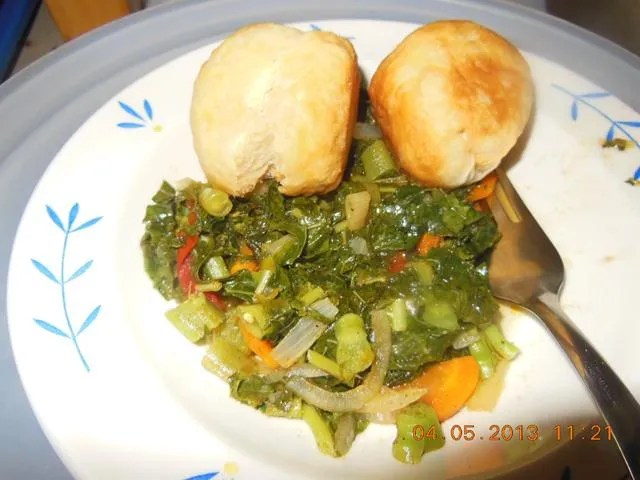 Jamaican food steamed callaloo easy jamaican recipe for Jamaican steam fish recipe
