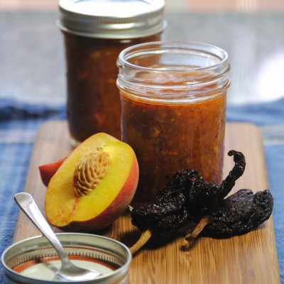 Summer Fest: Sweet Peach Ancho Chile Sauce