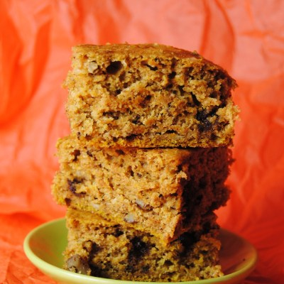 Chocolaty Pumpkin Bars