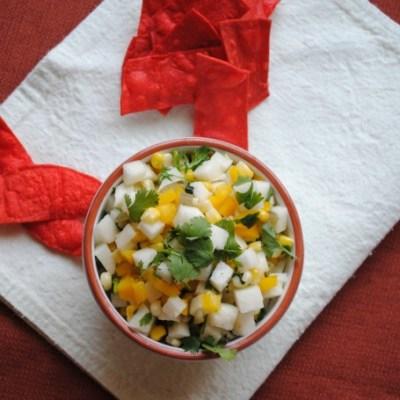 Jicama Corn Salsa