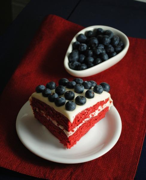 Spicy Red Velvet Cake